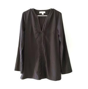 Michael Kors Pullover Long Sleeves Black Blouse M